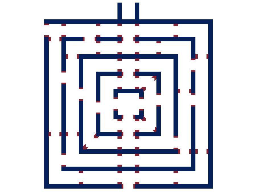 Labyrint (opblaasbaar)