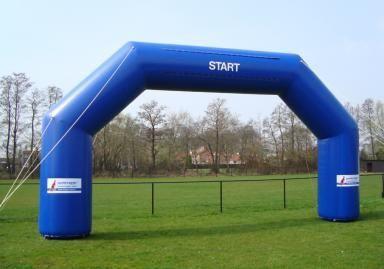 Start- finishboog