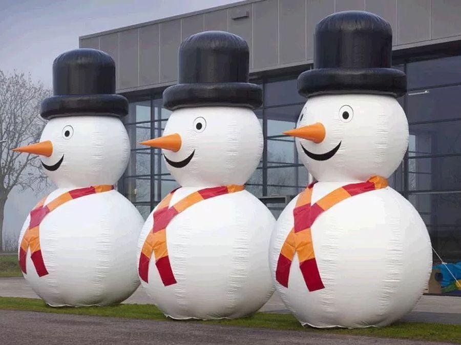 Sneeuwpop 5 meter