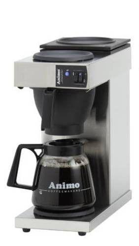 Koffiezetapparaat met 2 kannen