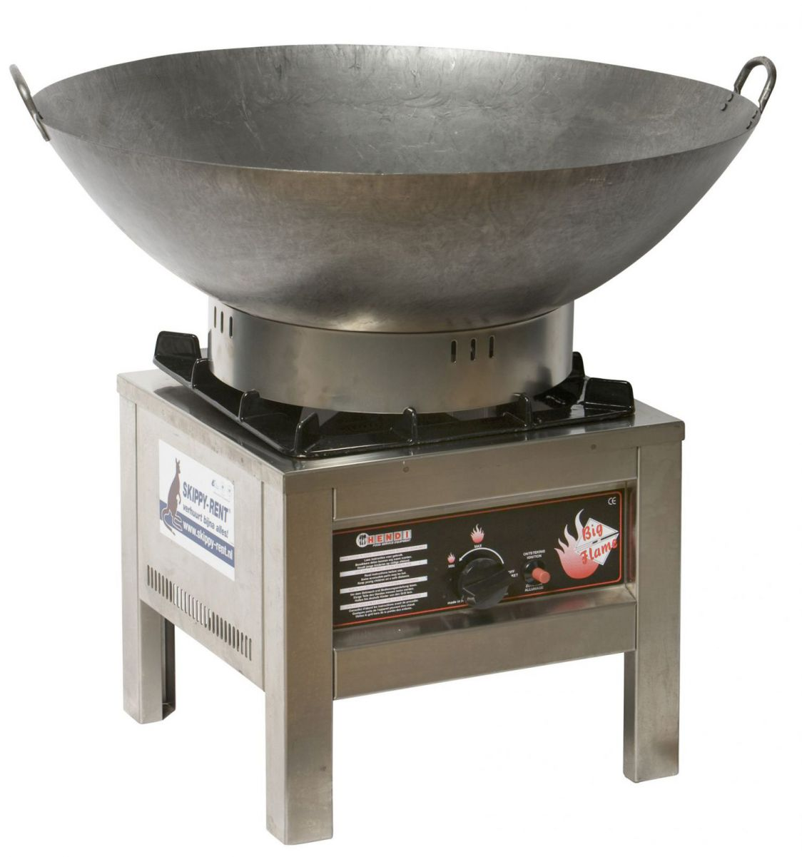 Hocker inclusief wok Ø 70 cm