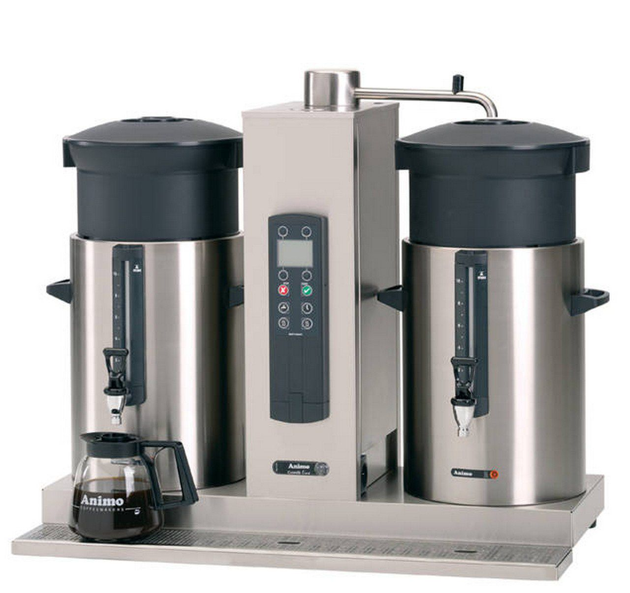 Koffiezetapparaat 2 x 10 L Skippy Rent horeca en keuken