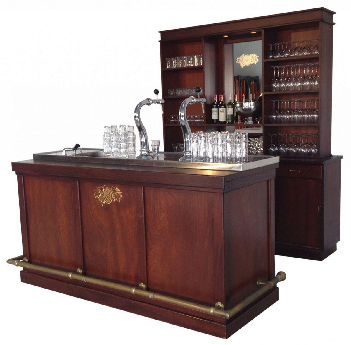 Bruin Cafe Bar, compleet met dubbele tap