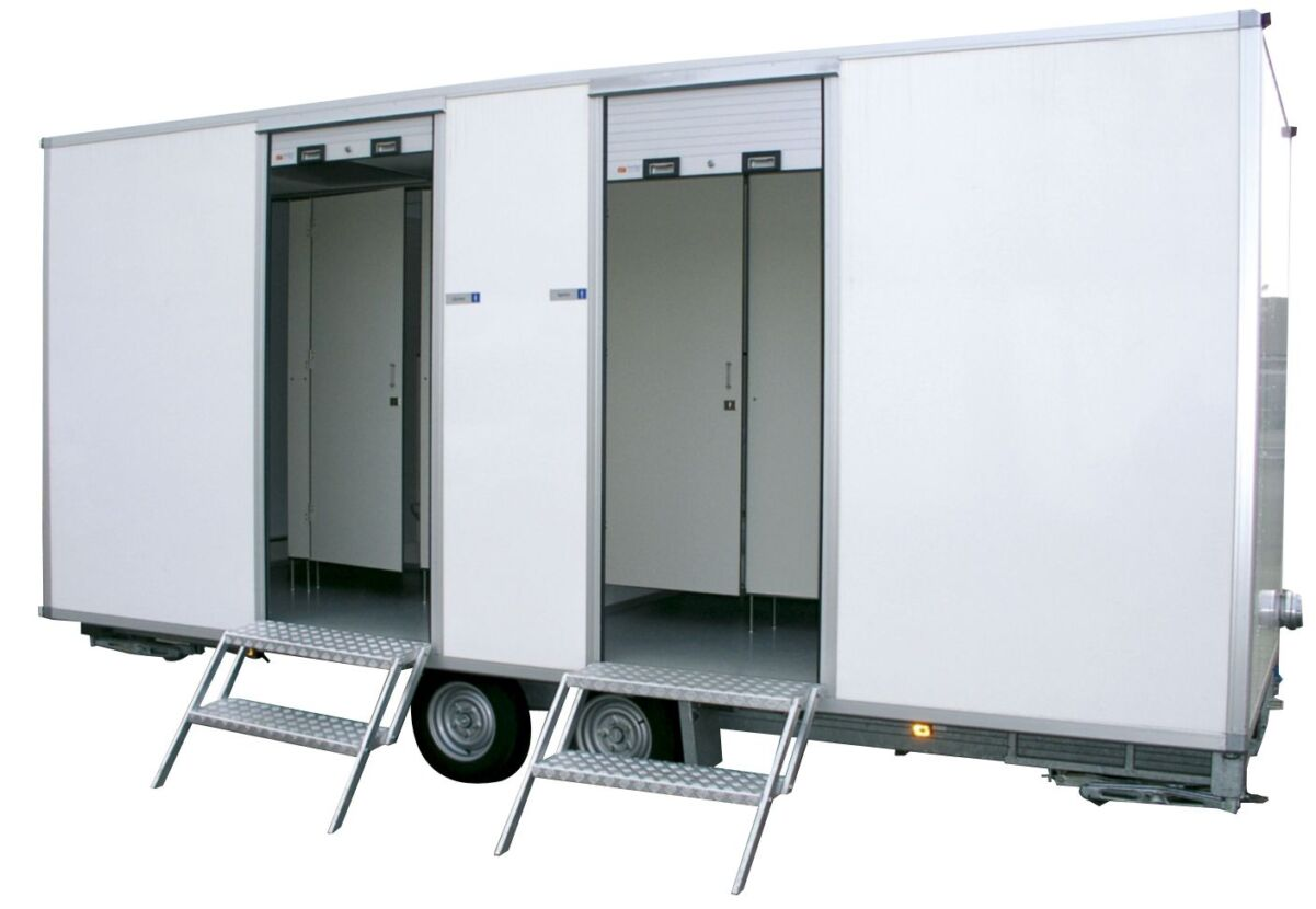 VIP toiletwagen