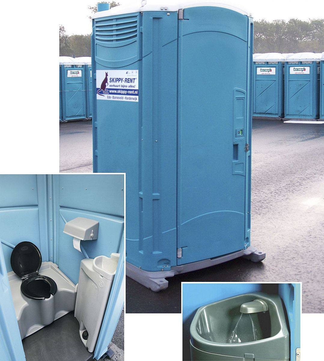Mobiele toiletcabine