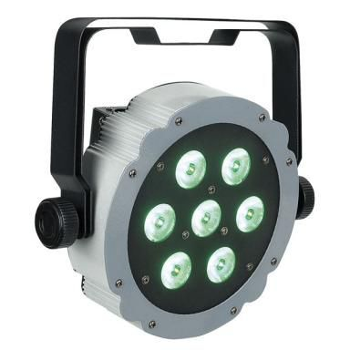 Lichtbalk incl. 6 par spots LED (RGB)