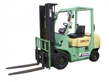 Heftruck Diesel – max. hefverm 2.500 kg