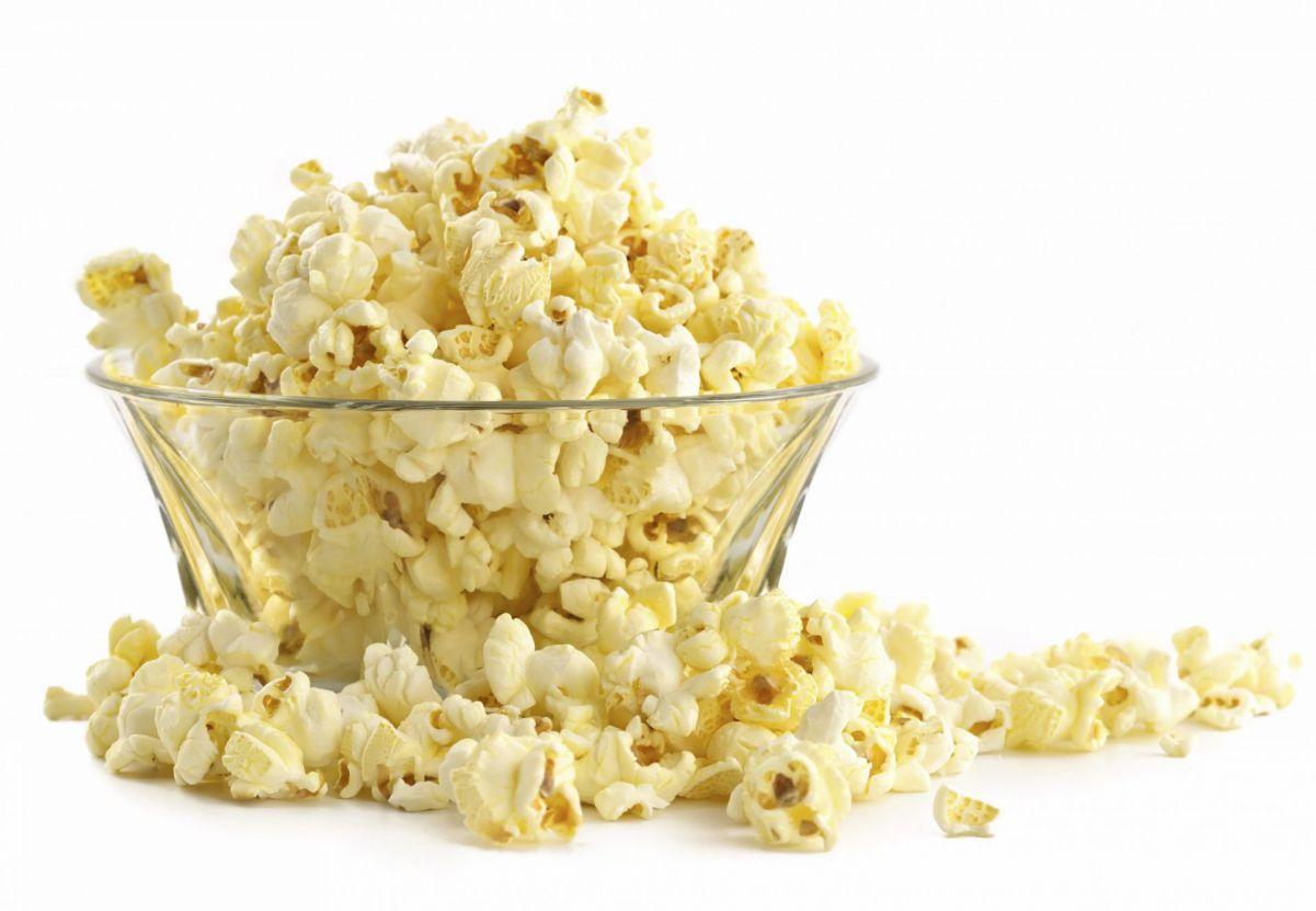 Popcorn ingrediënten 100 personen