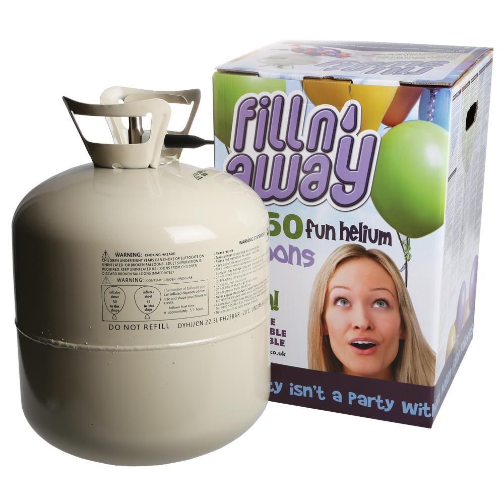 Helium voor 50 ballonnen