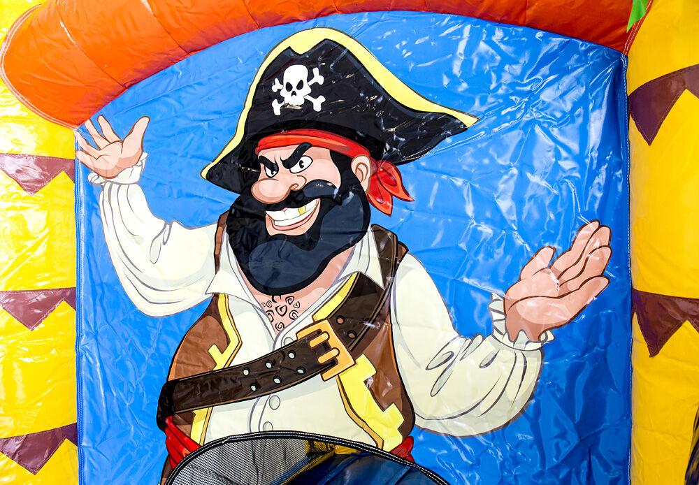 Springkussen Jumpy Happy Piraat