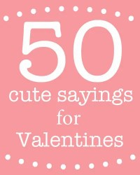 sayings on valentines day