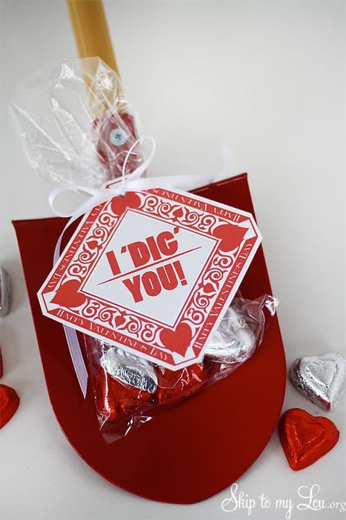 I DIG You Valentine Skip To My Lou