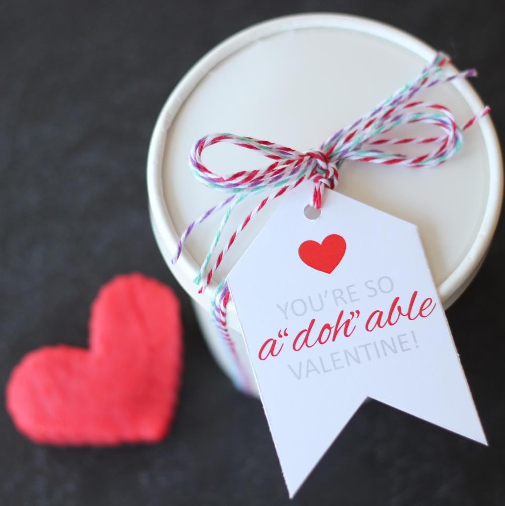Playdough Valentine Printables Recipe By The Twinery