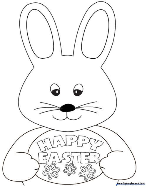 Free Easter Coloring Page | Skip To My Lou | free printable easter coloring pages for toddlers