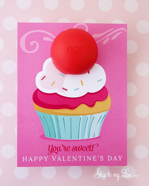 EOS Lip Balm Valentine Printable Skip To My Lou