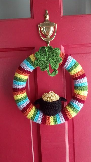 Free St Patricks Day Crochet Patterns Skip To My Lou