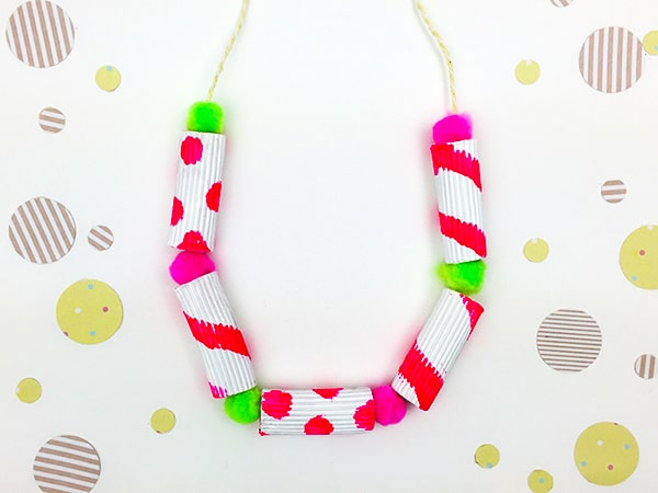 Make Some DIY Jewelry For Summer Style Painted Pasta