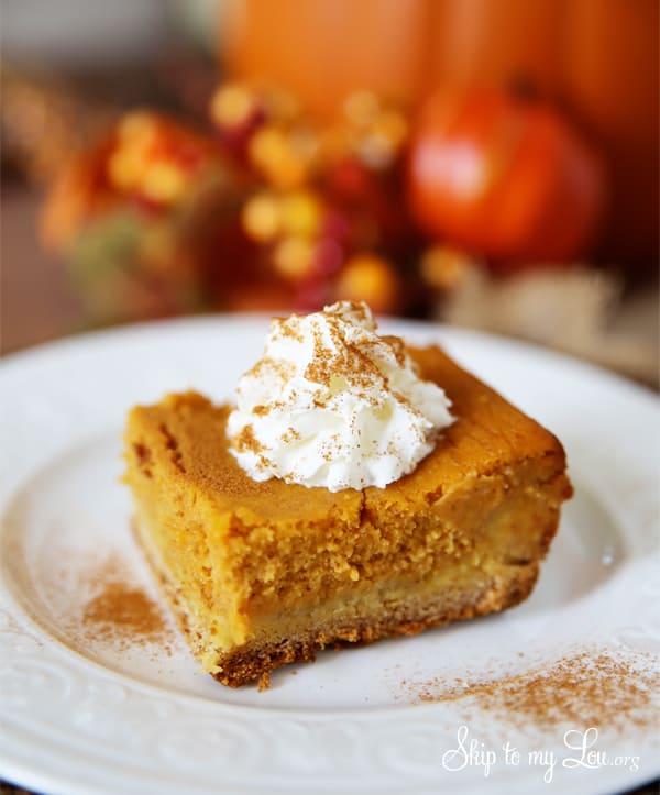 Pumpkin Gooey Butter Cake Skip To My Lou