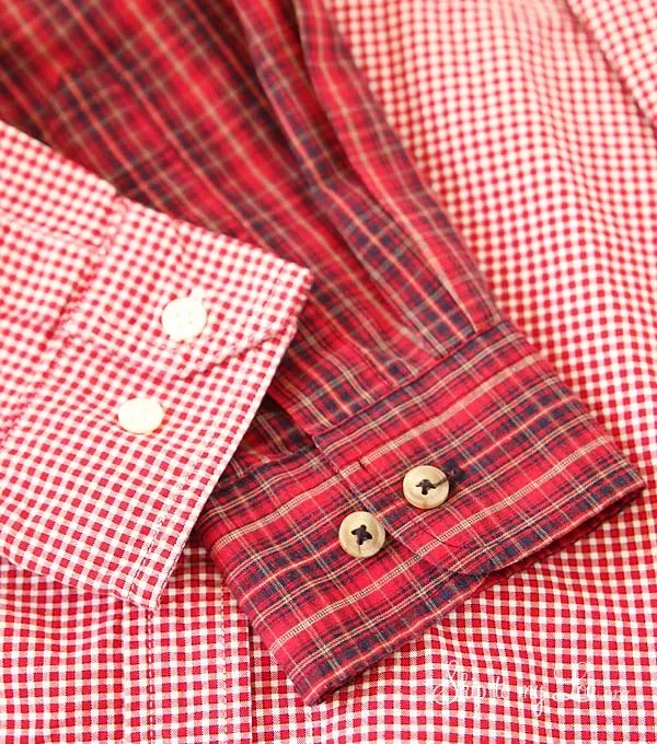 DIY Shirt Sleeve Pouch shirts