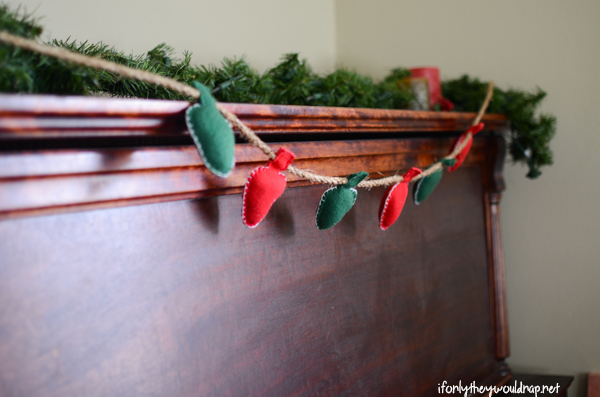 christmas light garland