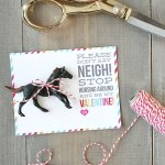 Don T Say Neigh Horse Valentines Skip To My Lou