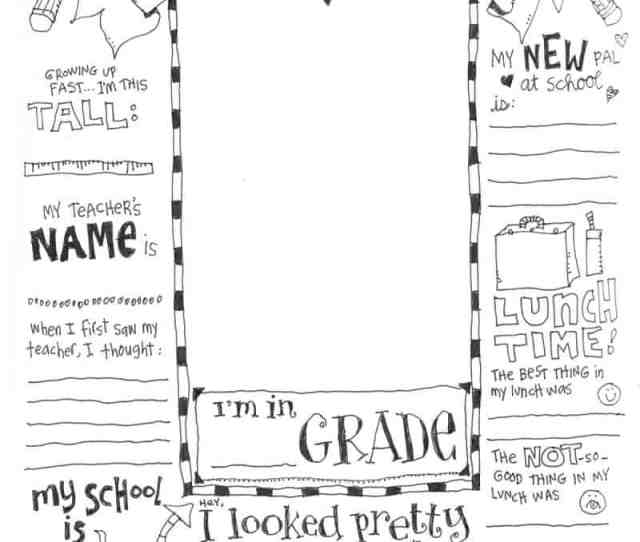 First Day Of School Coloring Pages Skip To My Lou