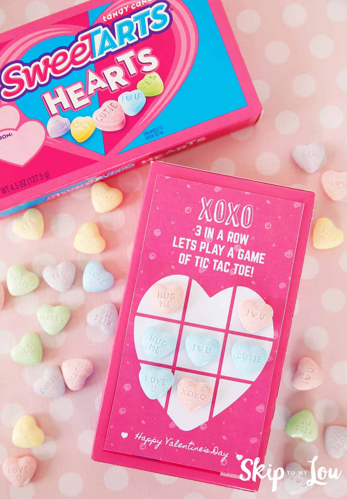 Printable Tic Tac Toe Valentine