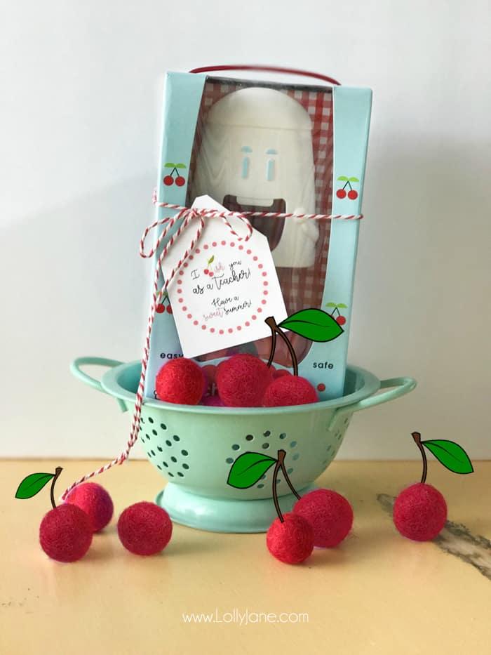 Cherry Teacher Appreciation Gift Skip To My Lou