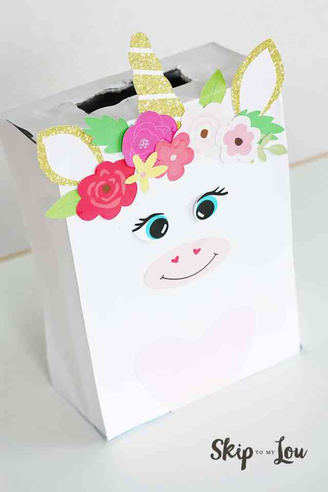 Unicorn Valentines Box