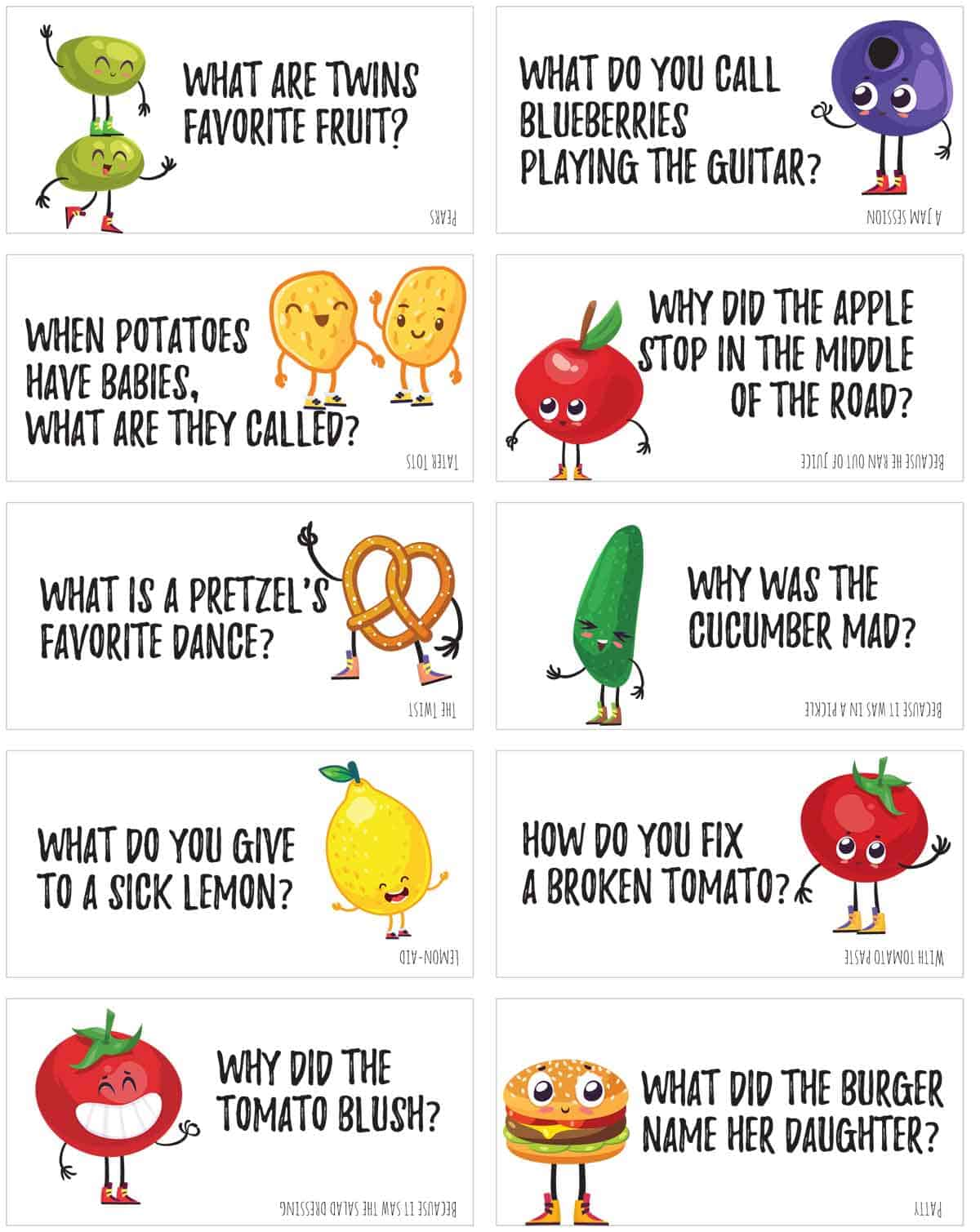 Funny Food Jokes To Print And Share