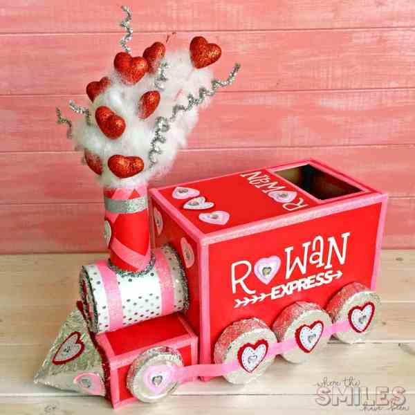 train valentine box