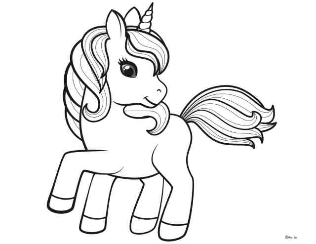 20 Magical Unicorn Coloring Pages Print for Free  Skip To My Lou