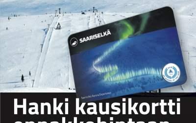 Talven kausikortit nyt myynnissä ennakkoon!