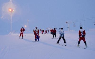 Santa Ski Day 25.12.2018