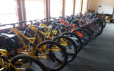 BikeShop Saariselkä -quality rental bikes for downhill & terrain