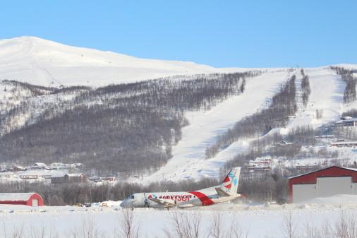 Succes for flyrute fra Stockholm til Hemavan/Tärnaby