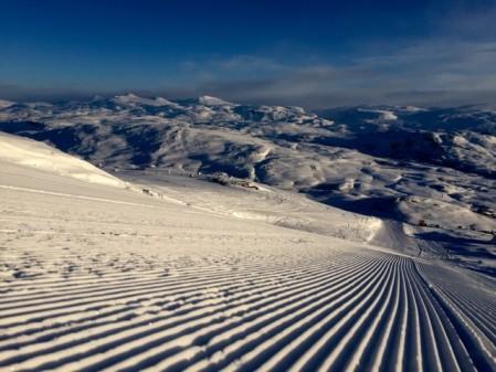 Usædvanlige gode sneforhold i hele Sverige