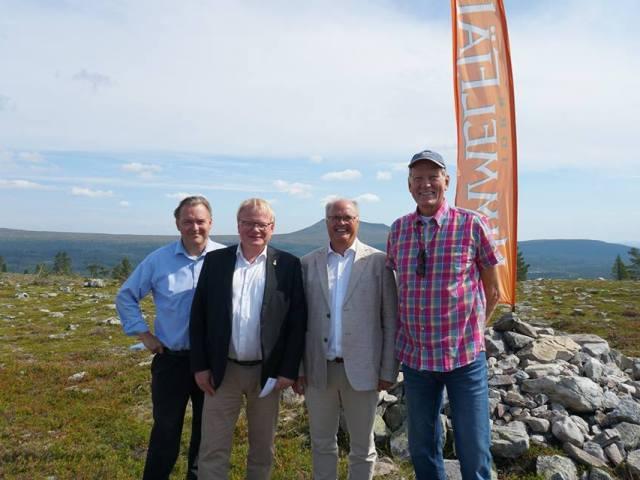 Så indledes byggeriet af nyt skianlæg i Dalarna