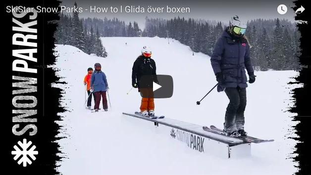 Lær dine børn at køre i Snow Parks
