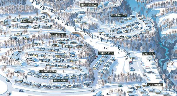 Hemavan får 300 nye ski in-ski out hytter