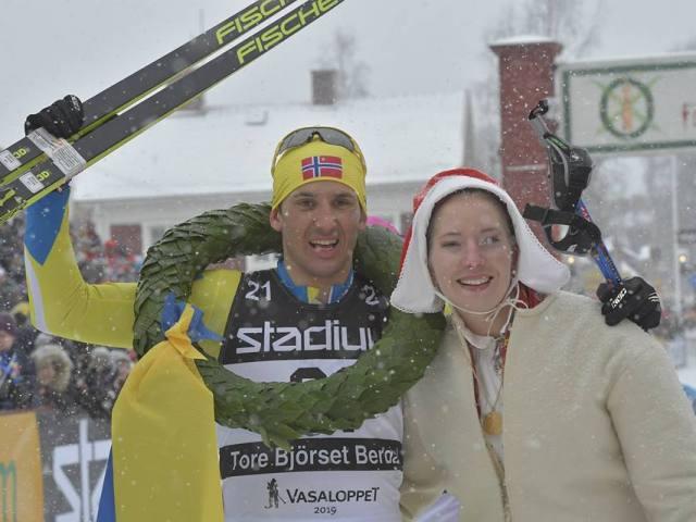 Tribbel norsk sejr i den 95. udgave af Vasaløbet