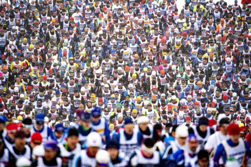 51.878 langrendsløbere løb mere end tre millioner kilometer i Vasaløbet