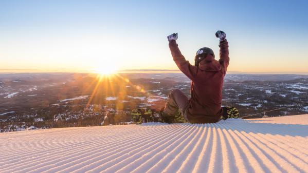 Stor stigning i antal danskere der tager på ski i marts