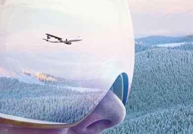 Gode flymuligheder fra Danmark til skiferie i Sverige og Norge