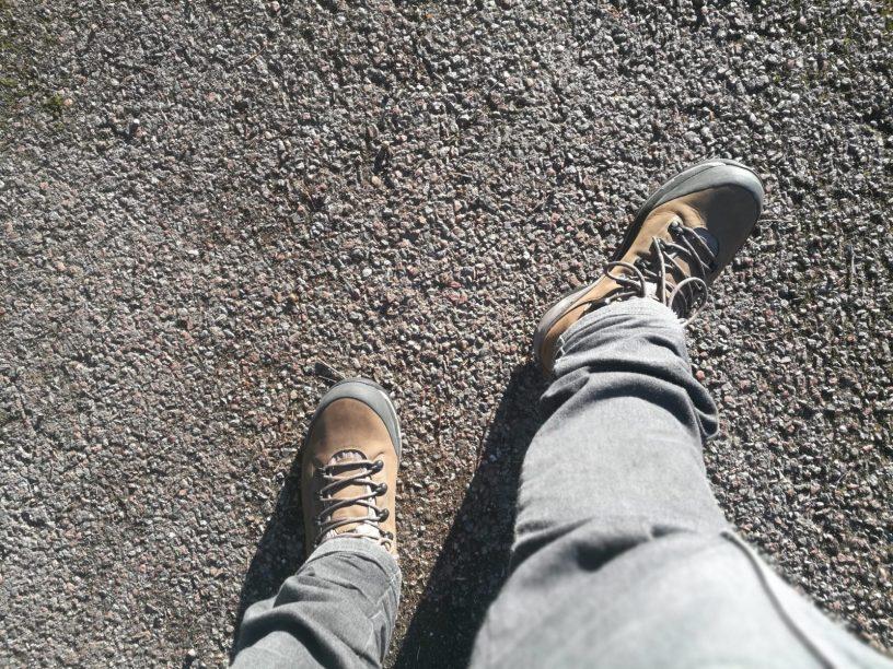Går in skor