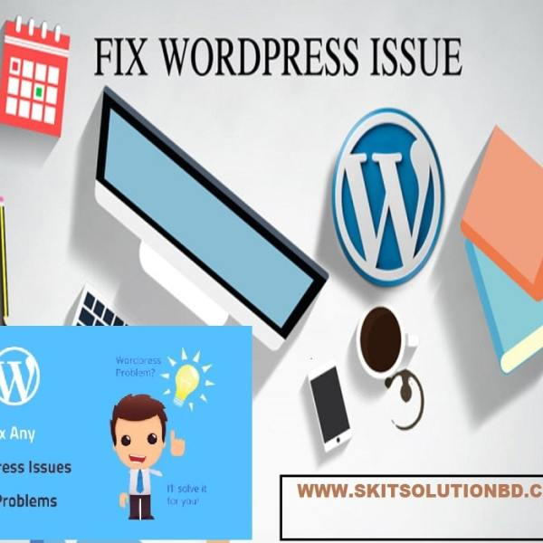 We will fix WordPress website Problem