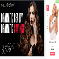 beauty website banner