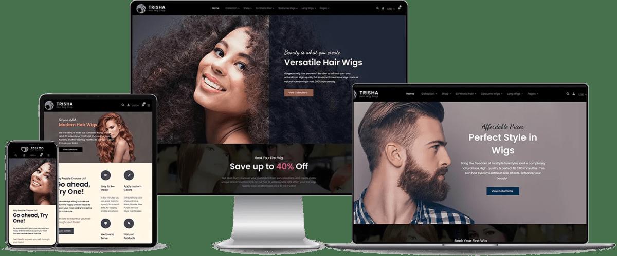 Hair Website Design Services