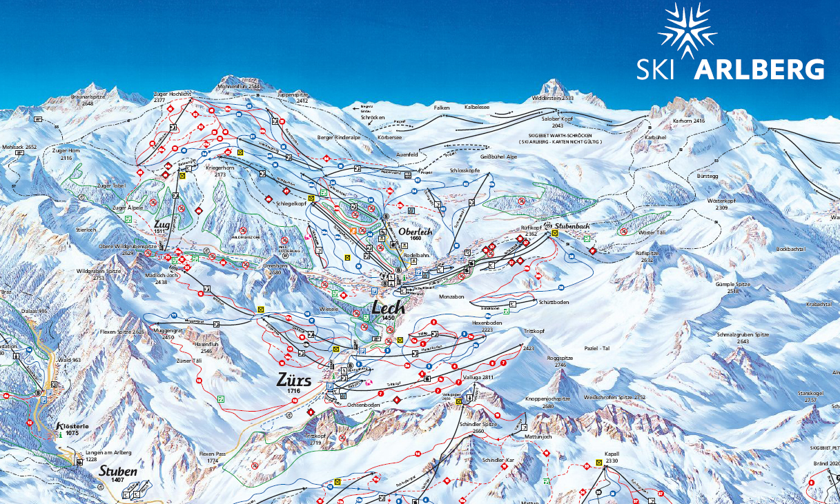 arlberg becomes austrias largest ski area thanks newly 4