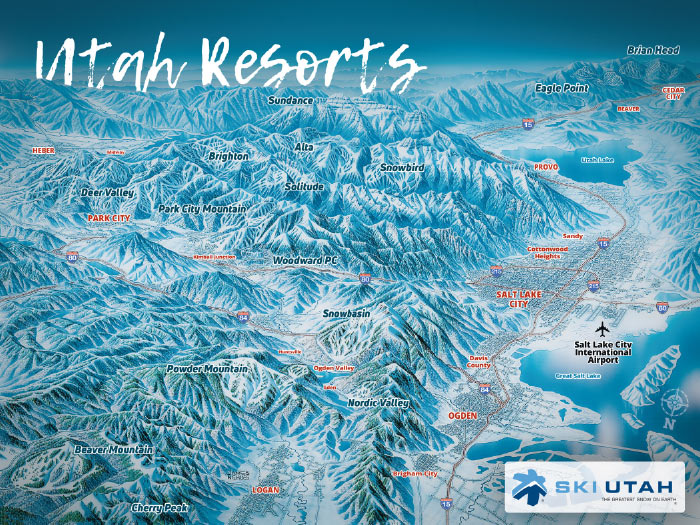 The trail map prior to the loss of the two bowls early in the. Urban Diversion Ski Series Utah